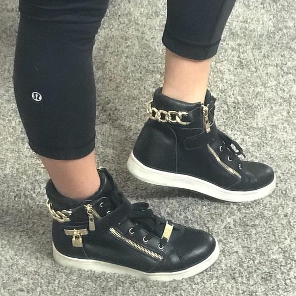 ff7e2320f3a5 bebe Shoes - BEBE Sport High Top Sneakers 👟